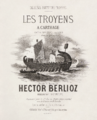 Hector Berlioz, Les Troyens à Carthage vocal score cover - Restoration.png