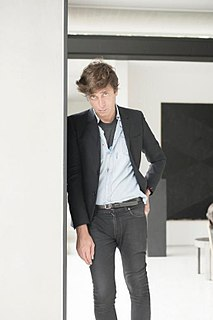 Hedi Slimane French fashion designer