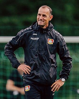 Heiko Herrlich - Herrlich managing Bayer Leverkusen in 2017