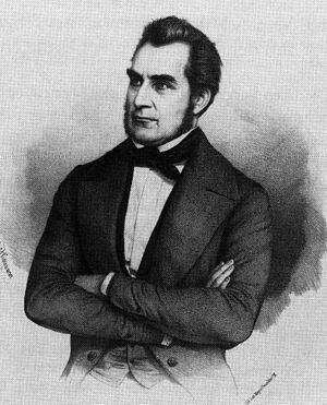 Heinrich von Gagern - Heinrich von Gagern, 1848 lithography