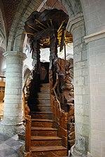 Hekelgem Sint-Michiel preekstoel 2.jpg