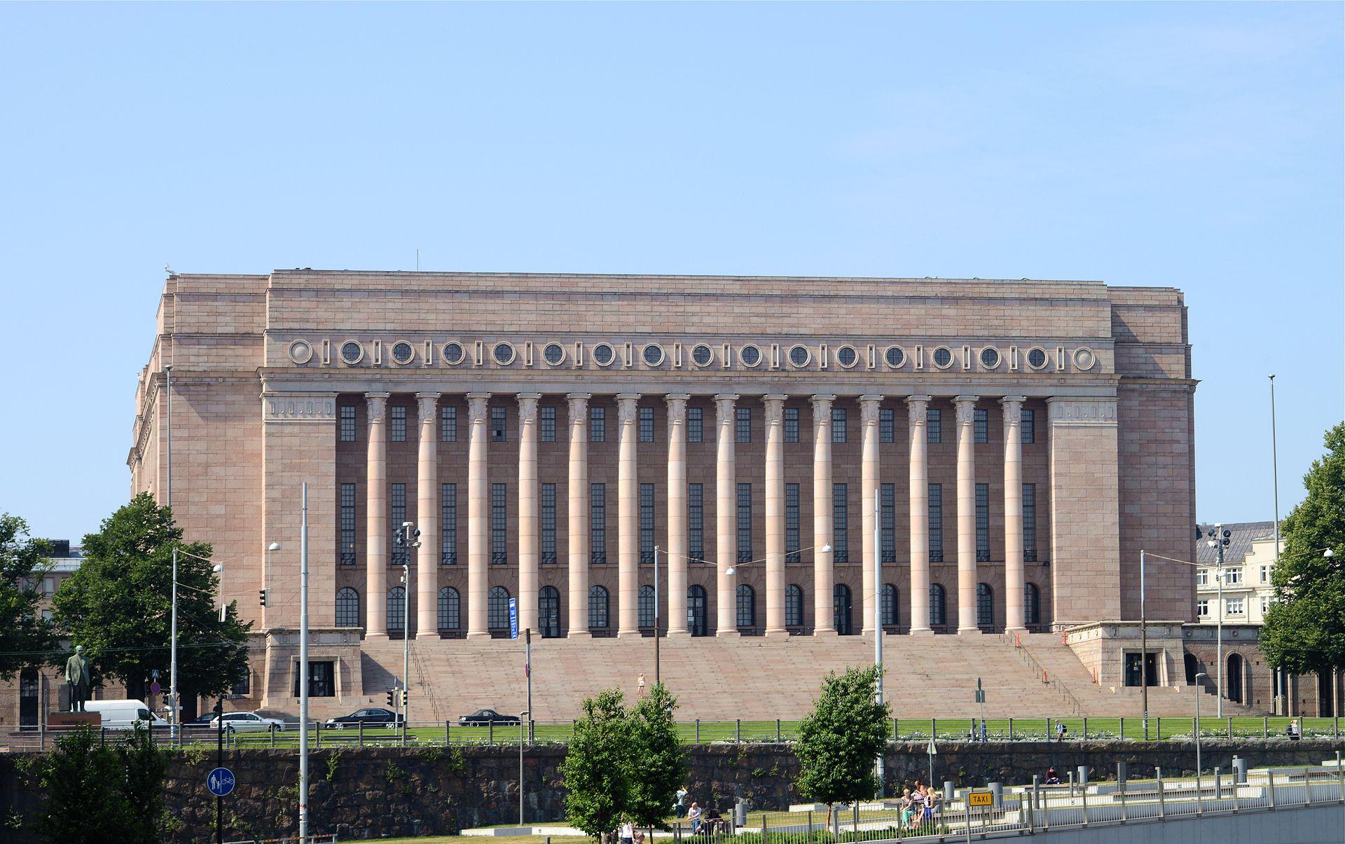Palazzo del parlamento finlandese wikipedia for Parlamento wikipedia