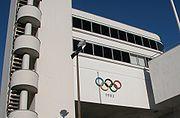 Helsinki Olympic Stadion rings