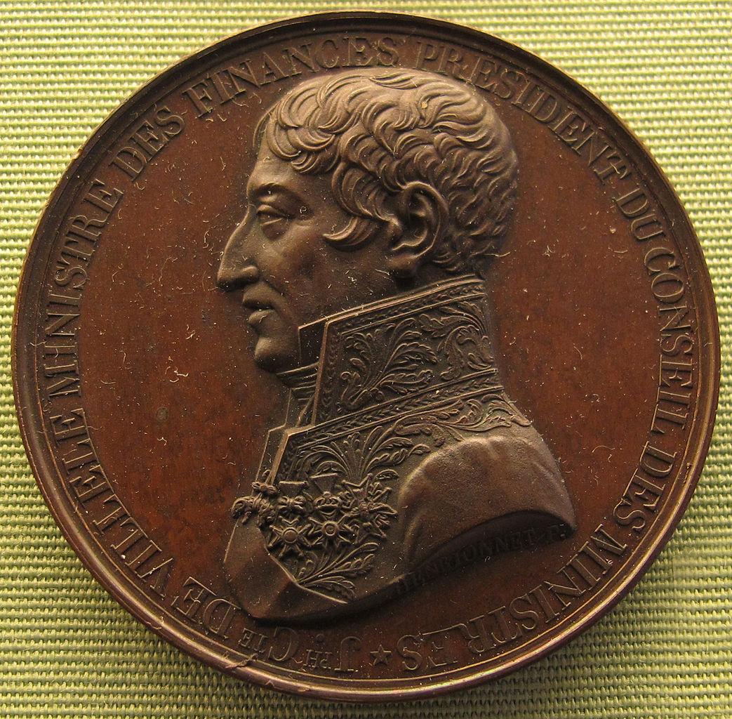 Fichier henrionnet joseph de villele 1825 jpg vikidia for 1825 2
