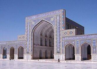 Great Mosque of Herat - Image: Herat Masjidi Jami