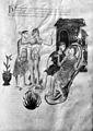 Herbe pedeleonis, Apollodorus de Herbis, 13th Century Wellcome M0007398.jpg