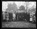 Herbert Hoover and group outside White House, Washington, D.C. LCCN2016889802.jpg