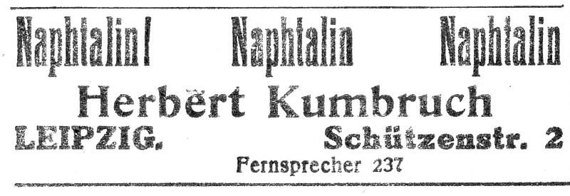File:Herbert Kumbruch, Leipzig, Naphtalin, Anzeige 1922.jpg