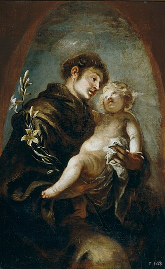 Francisco Herrera the Younger - St. Anthony of Padua, Museo del Prado.