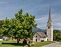 Hermagor Mellweg katholische Pfarrkirche hl Gertraud WSW-Ansicht 08062017 9176.jpg