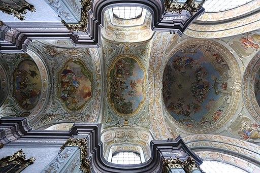 Herzogenburg - Kirche, Deckenmalerei