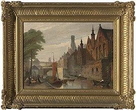Het Brugse Vrije vanop de Steenhouwersdijk