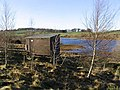 Hide at Lindean Reservoir - geograph.org.uk - 630883.jpg