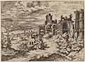Hieronymus Cock, Ruins on the Palatine with a Panoramic Landscape, 1550, NGA 91341.jpg