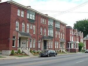 Old Louisville - A Townhouse along Hill Street