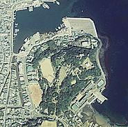 Hirado Castle air