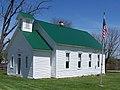Historic one-room Vandalia School, Owen County, Indiana.jpg