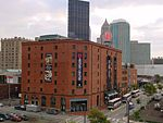 View of the Senator John Heinz History Center from Pittsburgh's Strip District