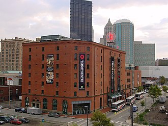 Heinz History Center - View of the Senator John Heinz History Center from Pittsburgh's Strip District