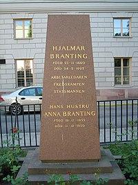 Hjalmar Branting, grav.jpg