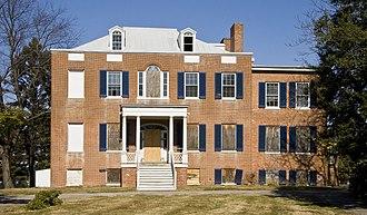 Holly Hall (Elkton, Maryland) - Image: Holly Hall Elkton 1