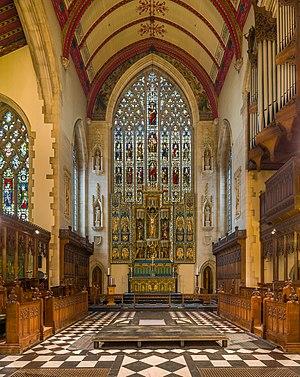 Holy Trinity Church, South Kensington - Image: Holy Trinity Church Reredos, South Kensington, London, UK Diliff