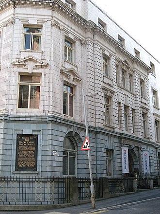 Co-operatives UK - Holyoake House, head office of Co-operatives UK
