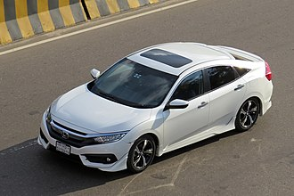 Honda Civic - Image: Honda Civic 2016