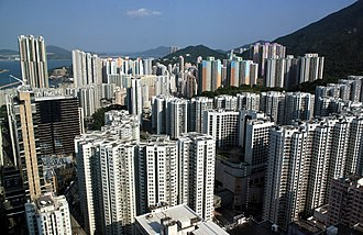 Hong Kong Island - Kornhill and Shau Kei Wan, located in the northern part of Eastern District