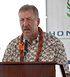 Honolulu Mayor Peter Carlisle at Rail Groundbreaking 2011-02-22 CROP.jpg