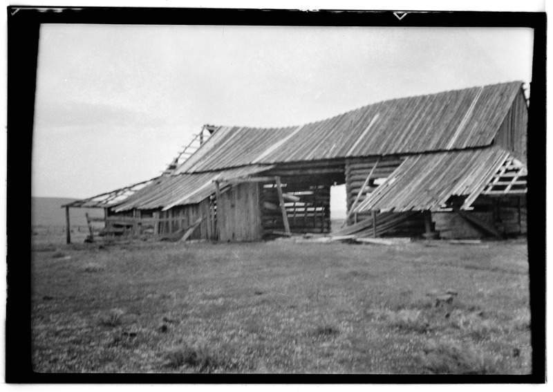File:Hopkins House and Barn, Goldendale, Klickitat County, WA HABS WASH,20-GOLD.V,3-4.tif