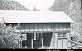 Horse barn, Building 88, headquarters area. ; ZION Museum and Archives Image 004 04 014 ; ZION 7354 (787a065a9e9843aa9d6e5b2500ac025f).jpg