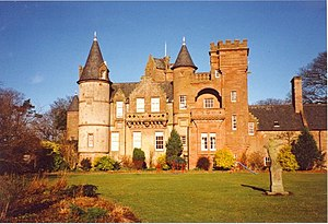 Hospitalfield House in Arbroath, Scotland.
