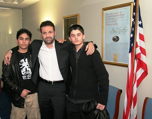 Hosseini, Khaled (with actors)