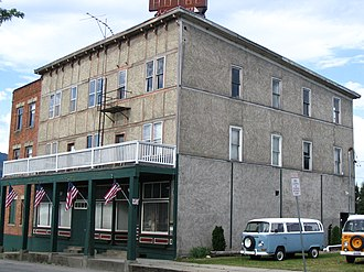 National Register of Historic Places listings in Bonner County, Idaho - Image: Hotel charbonneau 1912