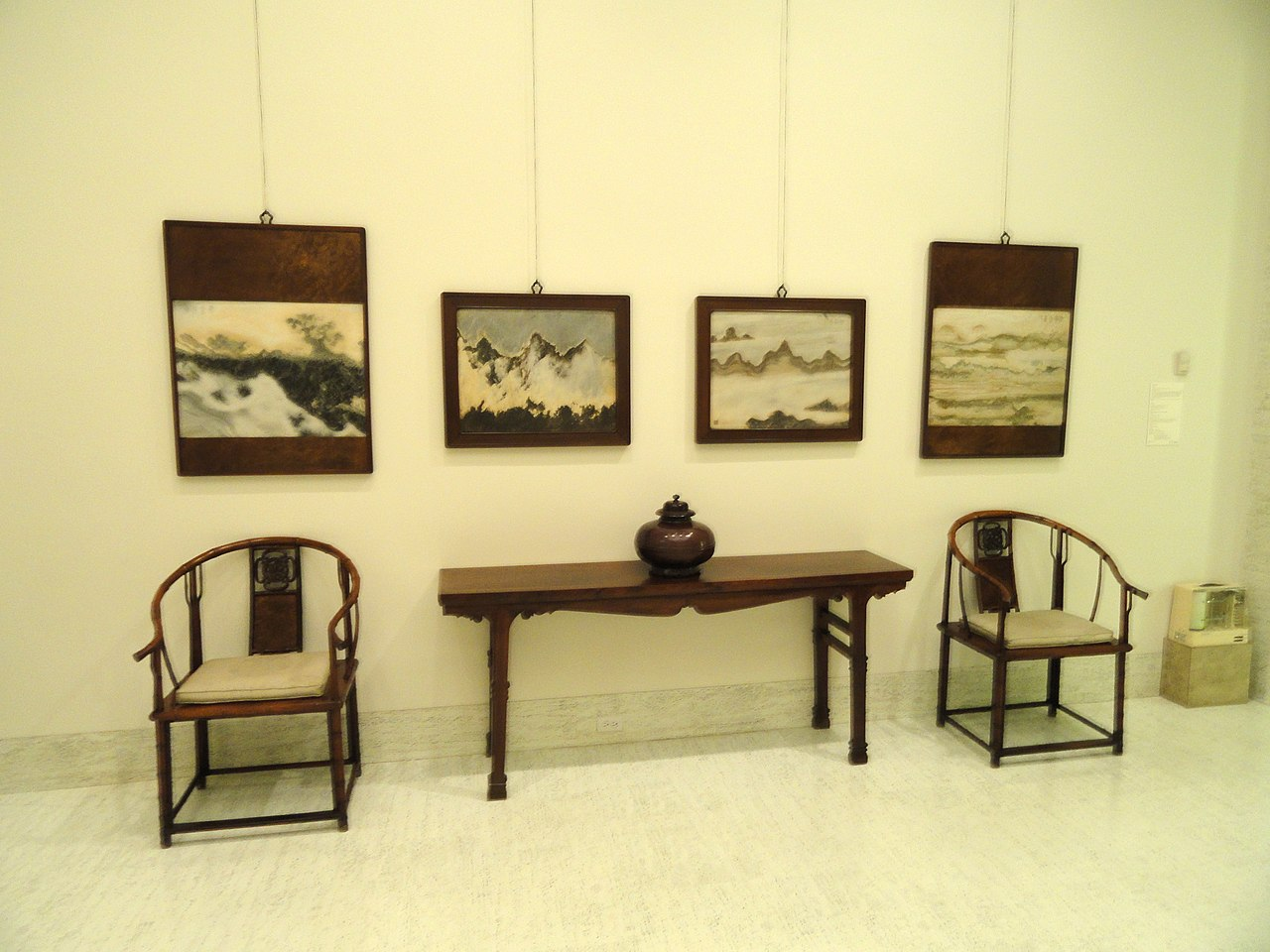 Marvelous photograph of File:Huanghuali wood furniture China Nelson Atkins Museum of Art  with #AF9A1C color and 1280x960 pixels