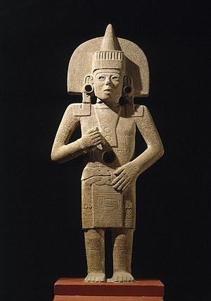 Huastec civilization - Early Postclassic life-death figure at the Brooklyn Museum
