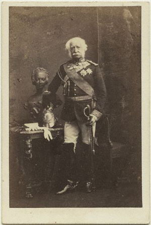 Hugh Gough, 1st Viscount Gough - Hugh Gough, 1861, by Camille Silvy
