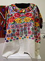 Huipil, Kaqchikel Maya, Tecpan, late 20th century, cotton and acrylic - Textile Museum of Canada - DSC01302.JPG