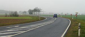 Bundesstraße 327 - Bundesstraße 327 near Rödelhausen