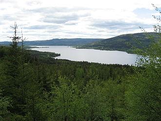 Hurdalsjøen - Image: Hurdalssjøen