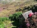 Hut, Footpath to Achmelvich - geograph.org.uk - 228893.jpg