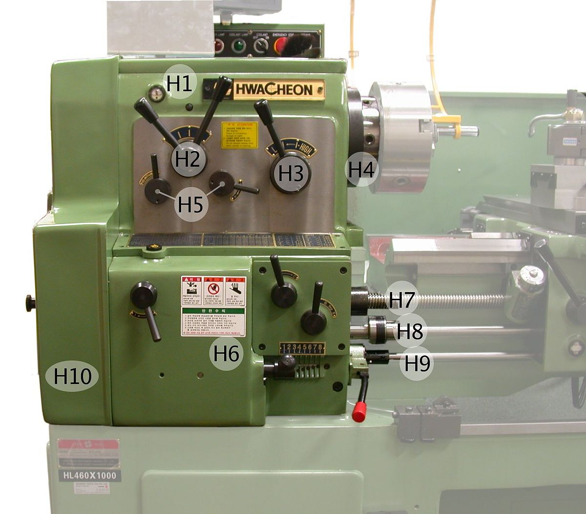 Lathe Machine Spindle (tool) ...