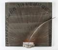 """Hygrometer-luftfuktighetsmätare """"som utwisar wädrets wäta och Torcka"""" - Skoklosters slott - 93160.tif"""