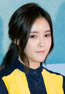 Hyomin at Love Jinx vip premiere, February 2014.jpg