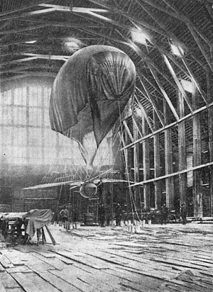 Wm. Crichton & Co. Okhta shipyard - The Okhta shipyard sheds were used for aviation experiments in the 1890s.