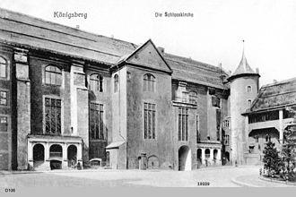 Schlosskirche (Königsberg) - Image: ID004527 D106 Kbg Schlosskirch Kbg Aussen
