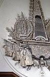 interieur, epitaaf (familie huybert), detail - burgh - 20260851 - rce