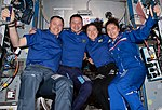 ISS-60 Four NASA astronauts pose in the Harmony module (cropped).jpg
