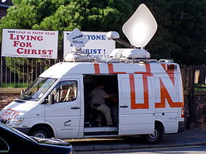 ITN - An ITN satellite van